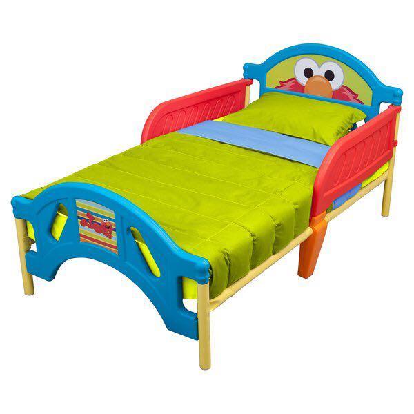 Elmo toddler bed