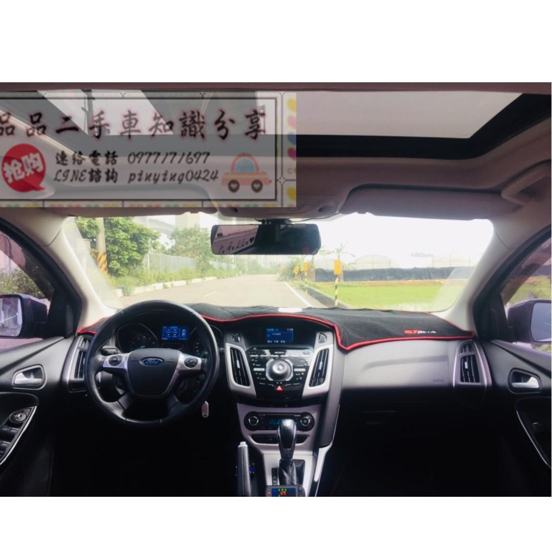 FB搜尋【品品二手車知識分享】百輛車庫任君挑選  2014年 福特 FOCUS 2.0 白
