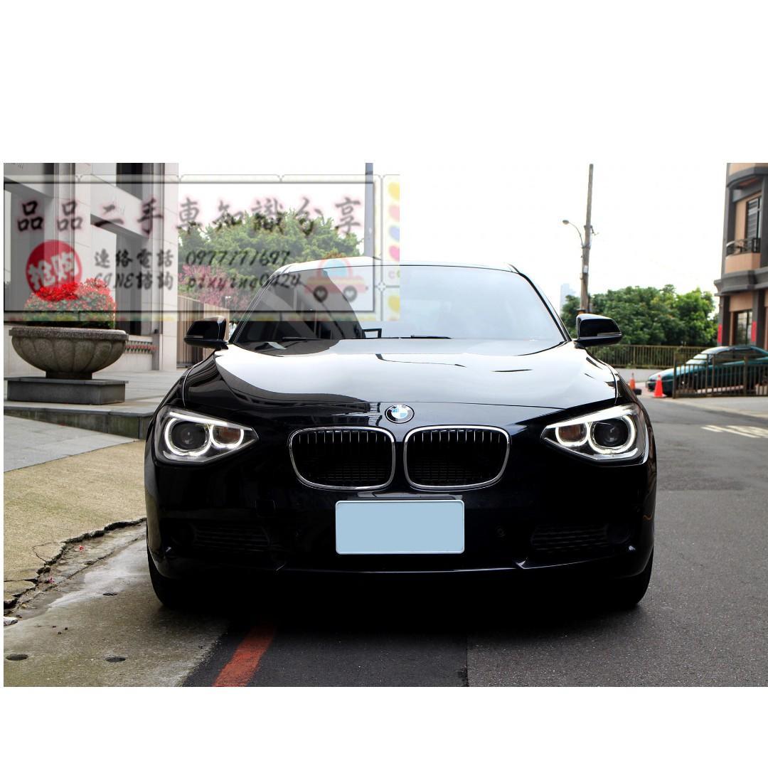 FB搜尋【品品二手車知識分享】百輛車庫任君挑選 2015年 BMW 116 黑