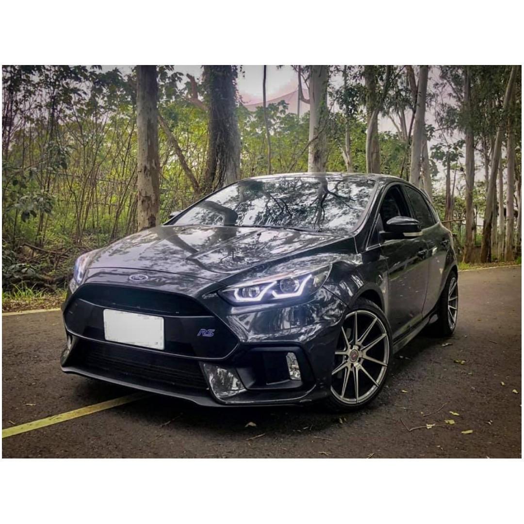 【FB搜尋桃園阿承】福特 超人氣FOCUS 前RS後ST 2014年 2.0 灰色 二手車 中古車
