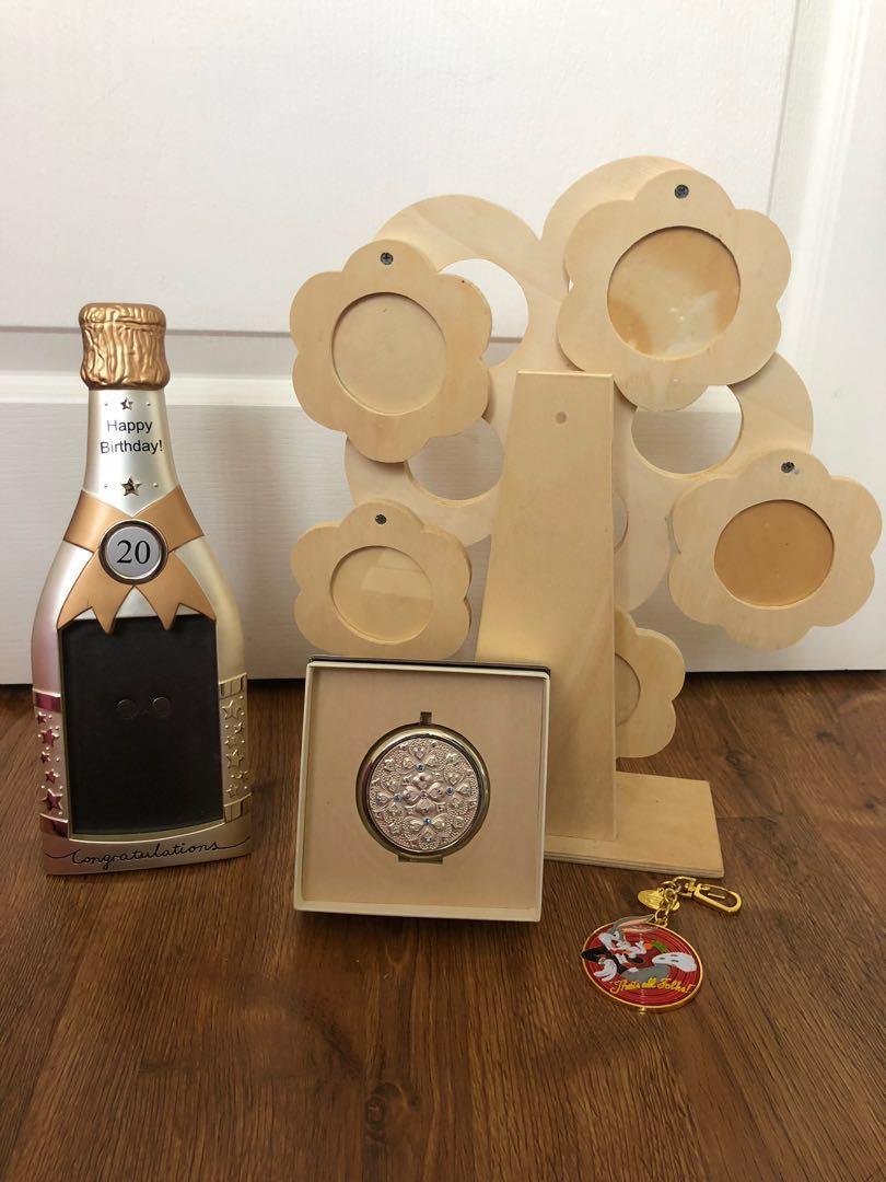 Ferris wheels & 20th birthday photo frame gift set