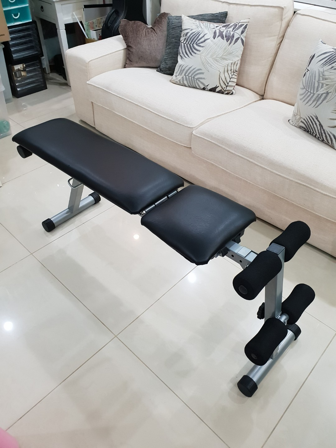 Astounding Foldable Fitness Exercise Bench Press Seat Chair Gmtry Best Dining Table And Chair Ideas Images Gmtryco