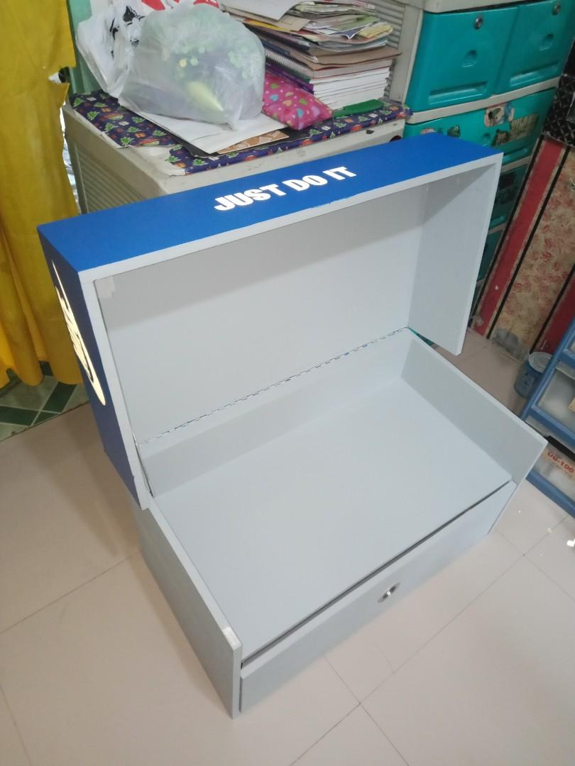 FORSALE Shoe Box Storage NIKE Only 2pcs 4pairs shoes ang