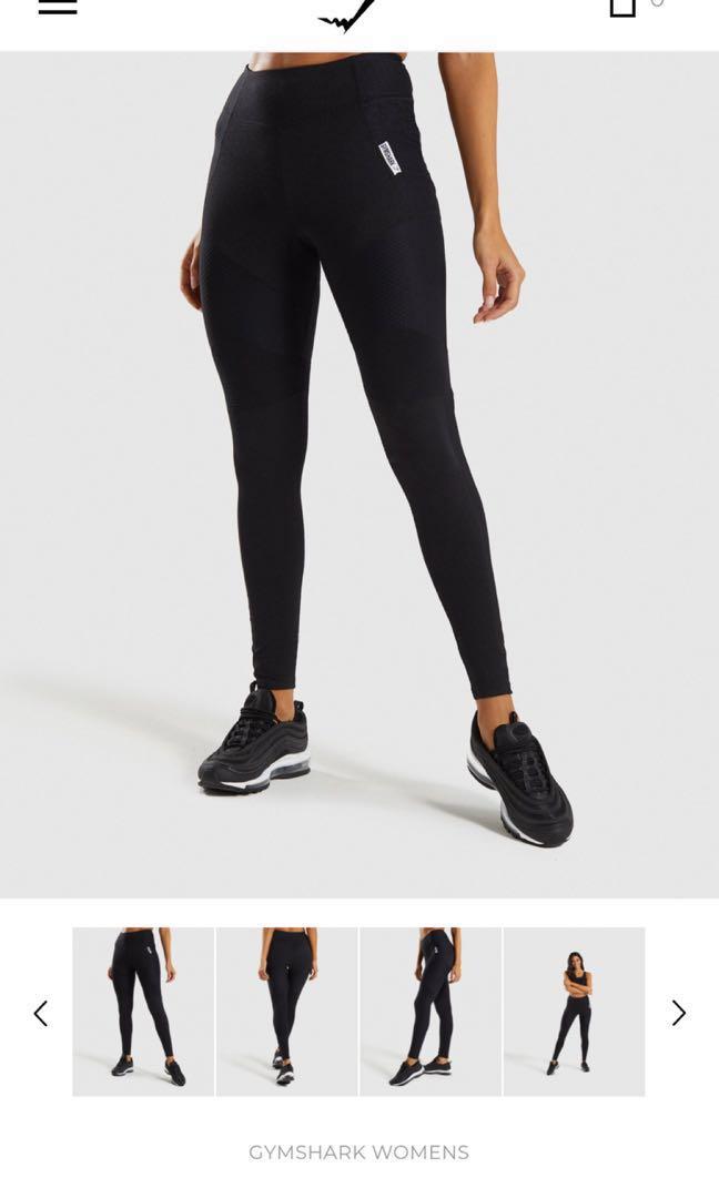 50a7e61f8e886 Gymshark True Texture Leggings size S in black, Sports, Sports ...