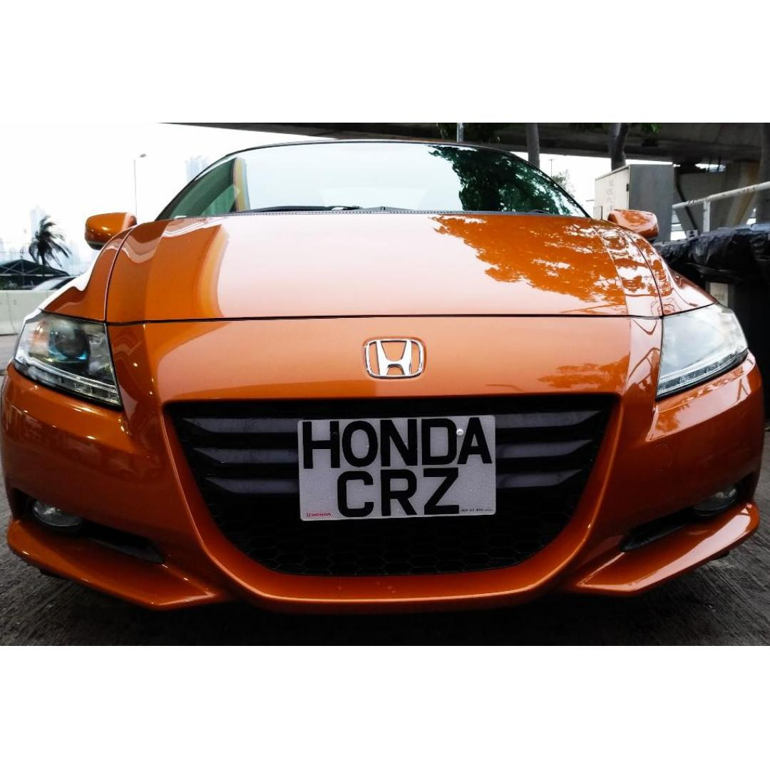 HONDA CRZ ALPHA 2010 iSTOP LEATHER EDITION
