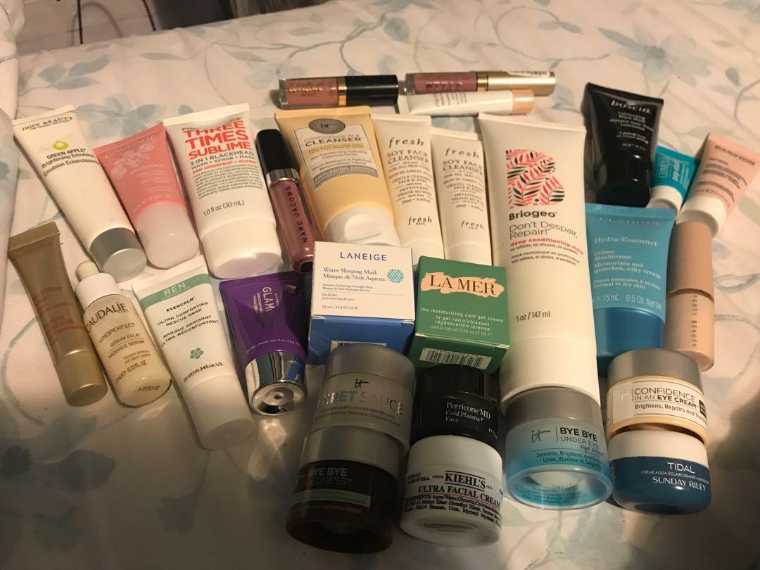 Individual Prices in listing - mini/deluxe Sephora products