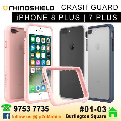 new style 39f3b 78b02 [iPhone 8+] RhinoShield Crash Guard iPhone 8+ / 7+