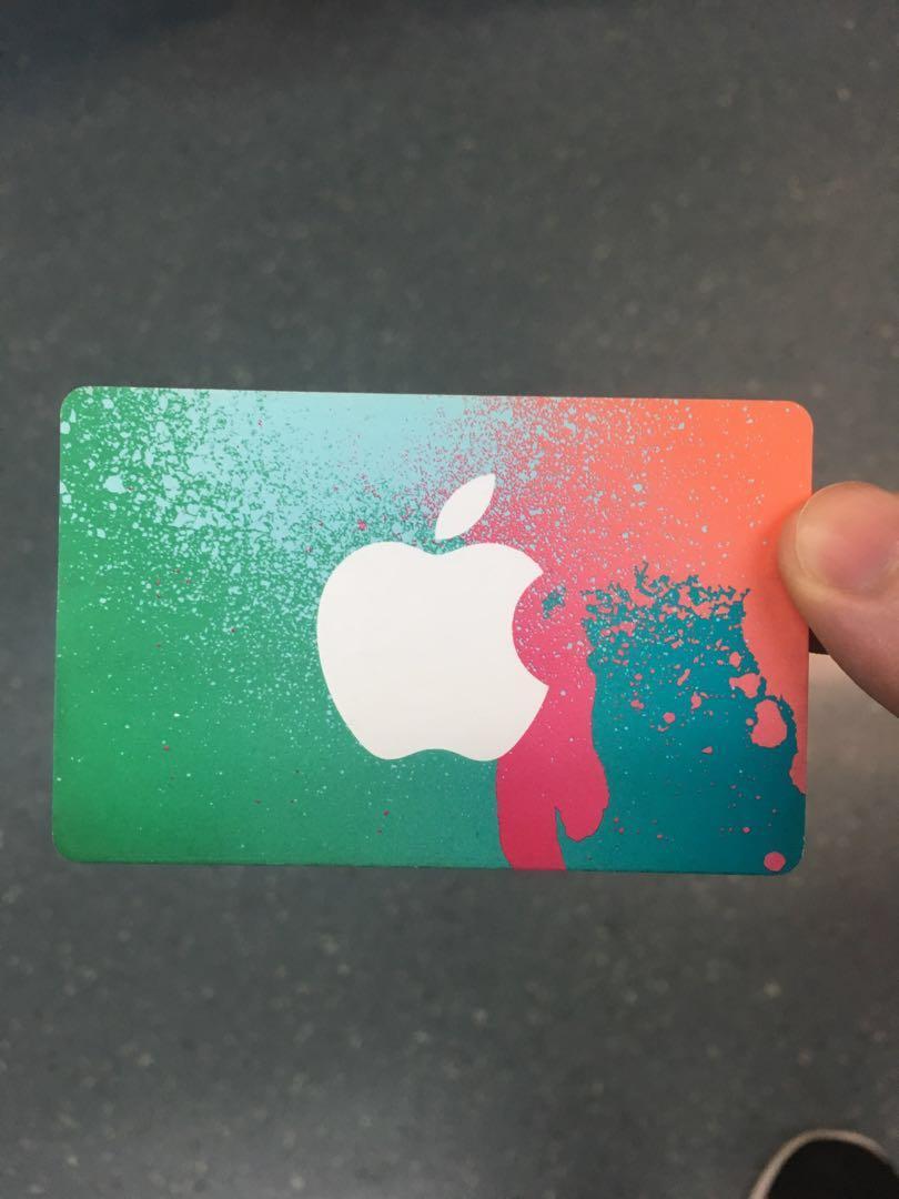 iTunes Card Singapore $100