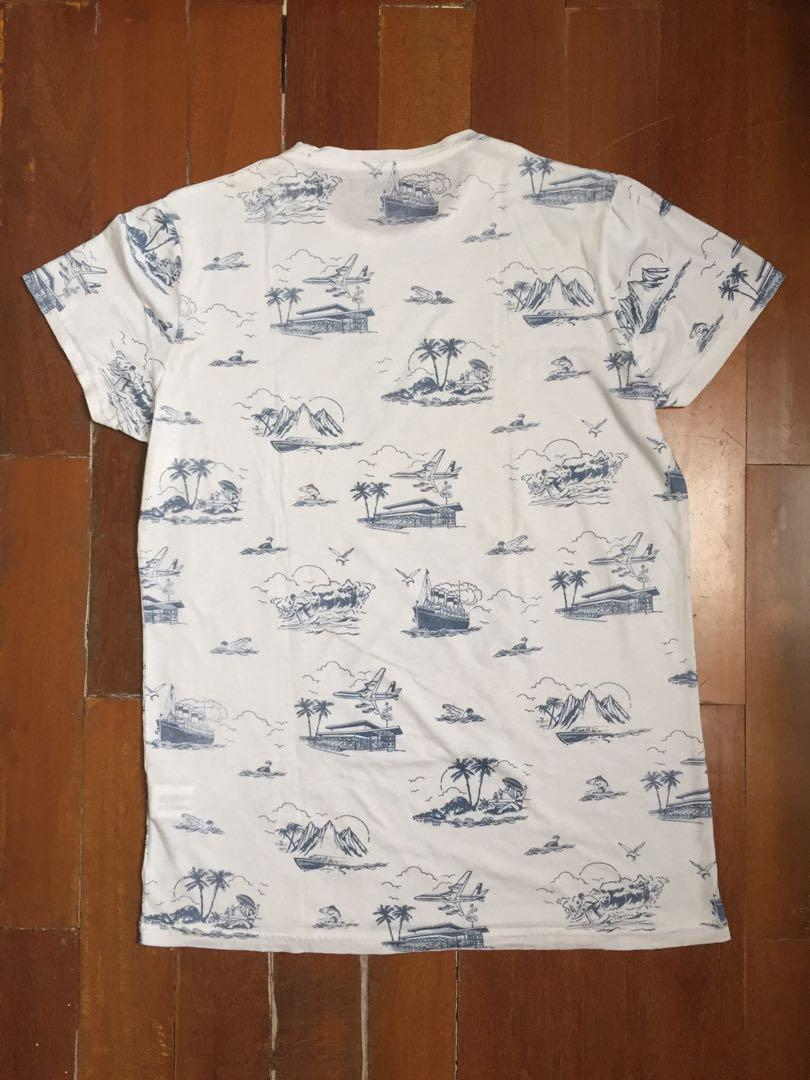 Kaos Pull & Bear Pria Original Pull&Bear Men Man