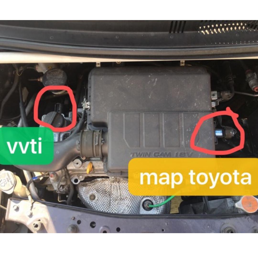 MAP Sensor & VVTi Valve Untuk Myvi