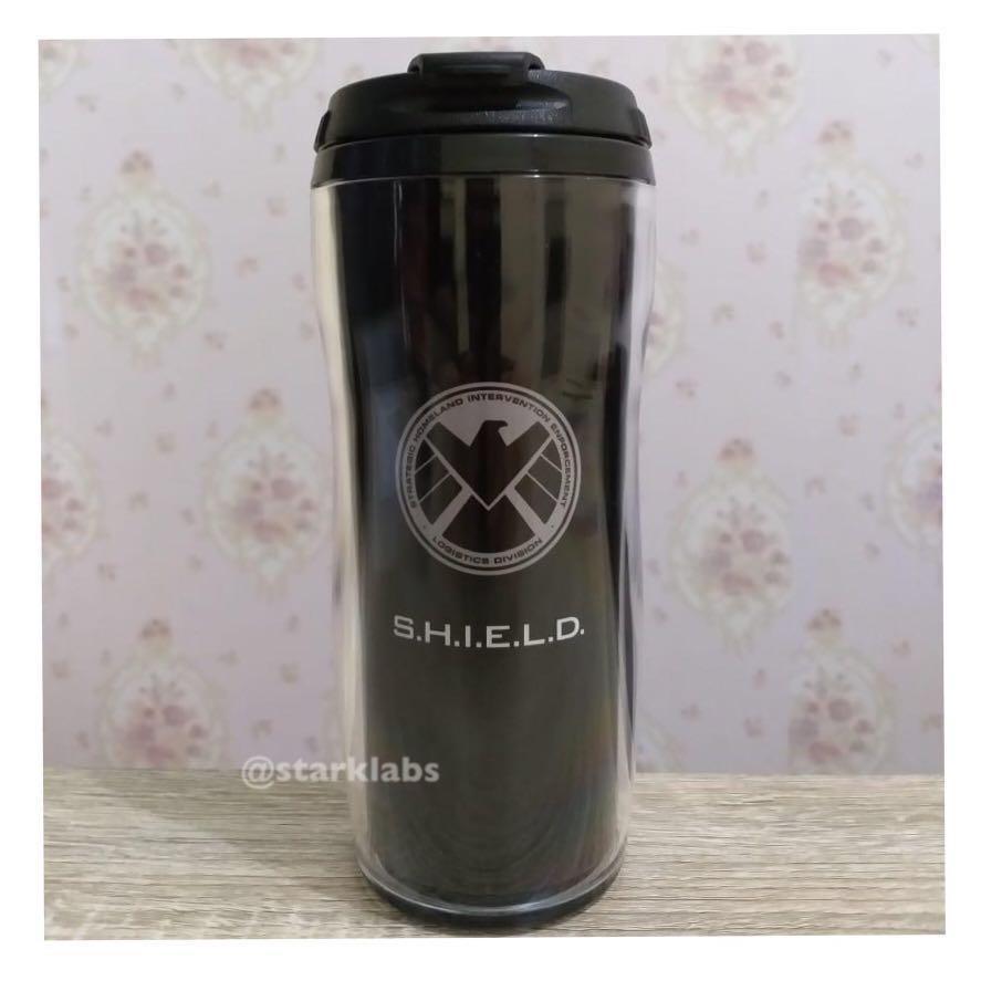 Marvel Agents of SHIELD Tumbler Mug Water Bottle