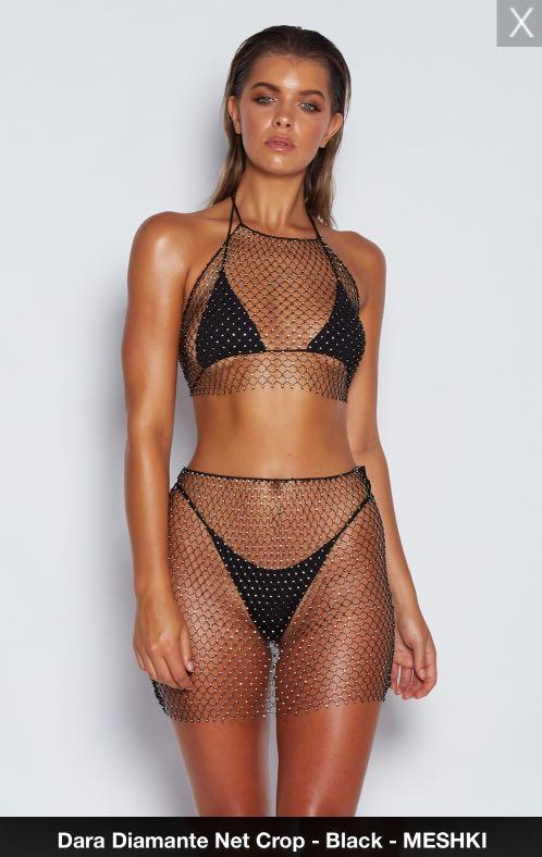 MESHKI Diamanté Net Set