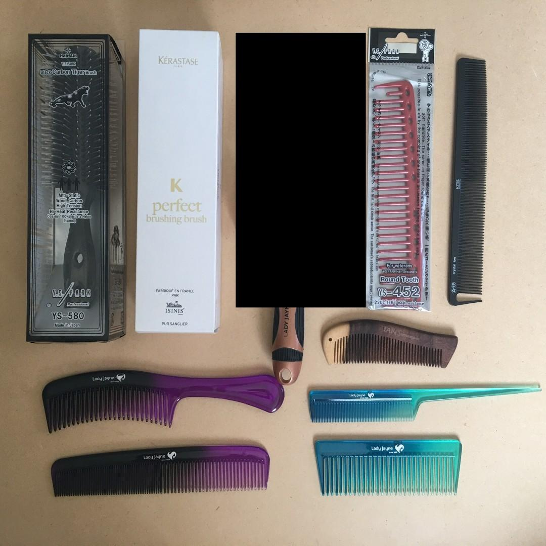 NEW Professional Hair Brushes and Combs