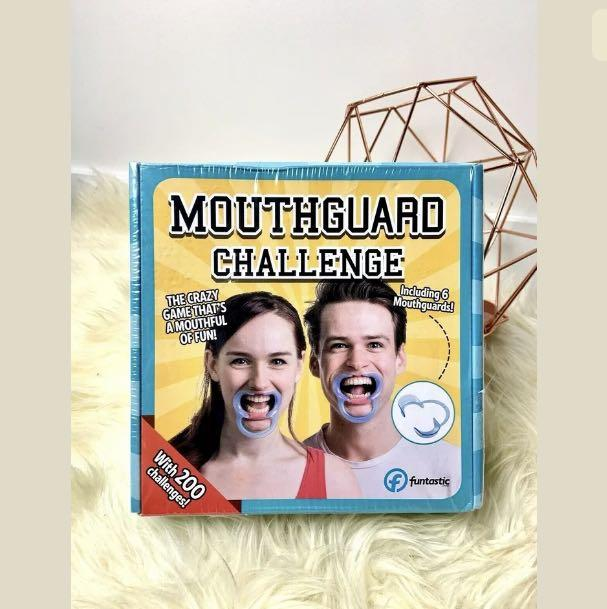 New Sealed Mouthguard Challenge party Game Funtastic