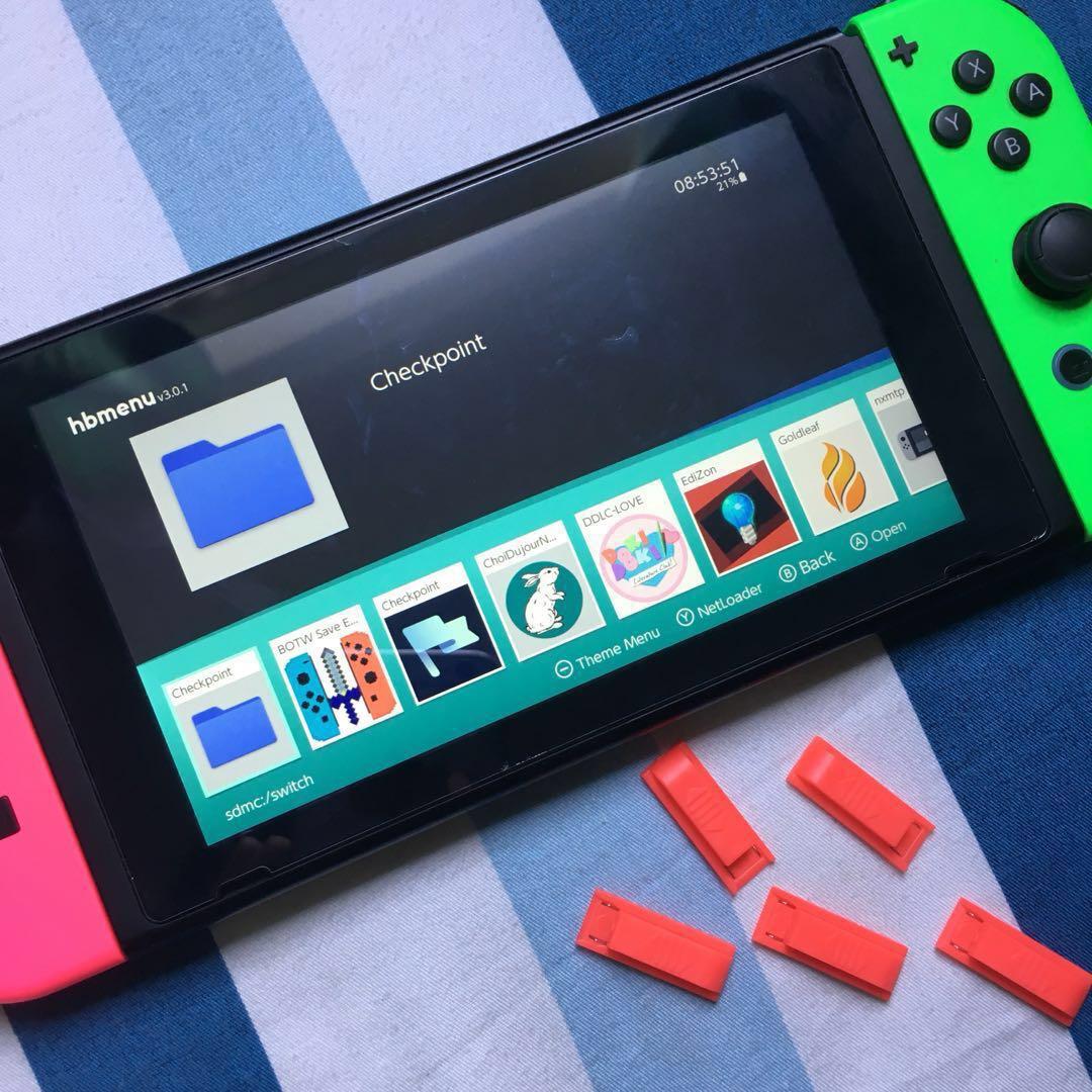 Nintendo Switch 7 0 1 Modding Repair Jailbreak Hack Service
