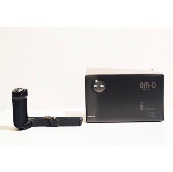 Olympus OM-D EM5 Mark ii (EM5 ii) - Body Only + Bonus Original Grip HLD-8G (Value $60)