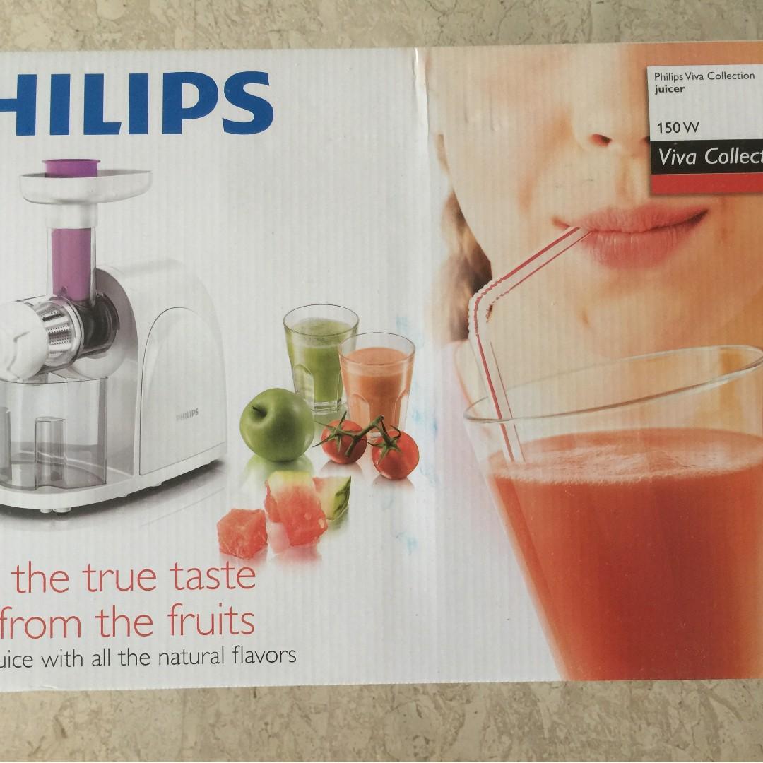 Philips Hr1830 Viva Collection Juicer Home Appliances Kitchenware