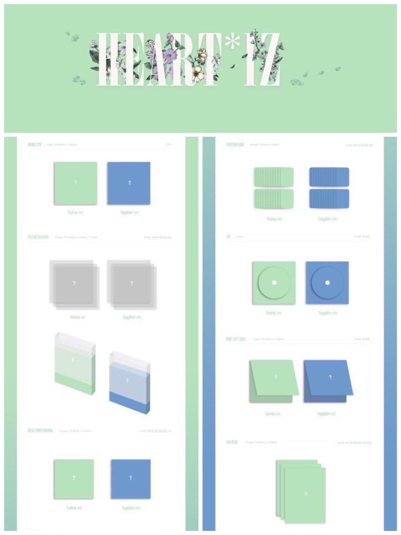 PRE ORDER🇲🇾 #IZ_ONE Mini Album Vol.2 [HEARTIZ] *choose ver