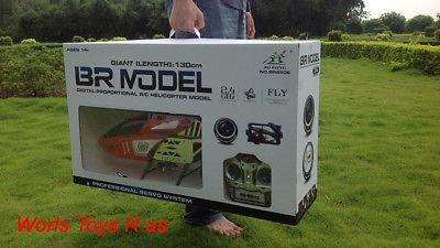RC Helicopter 130cm 2.4G 3 Channel Big RC Helicopter Hobby Model