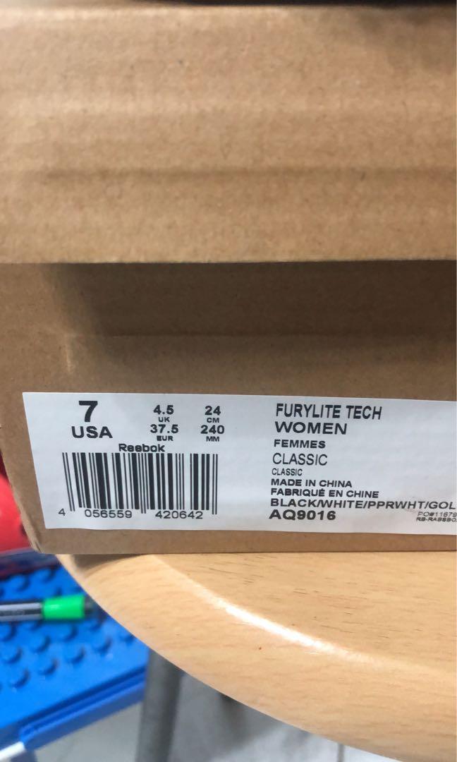 Reebok 熊貓 furylite tech