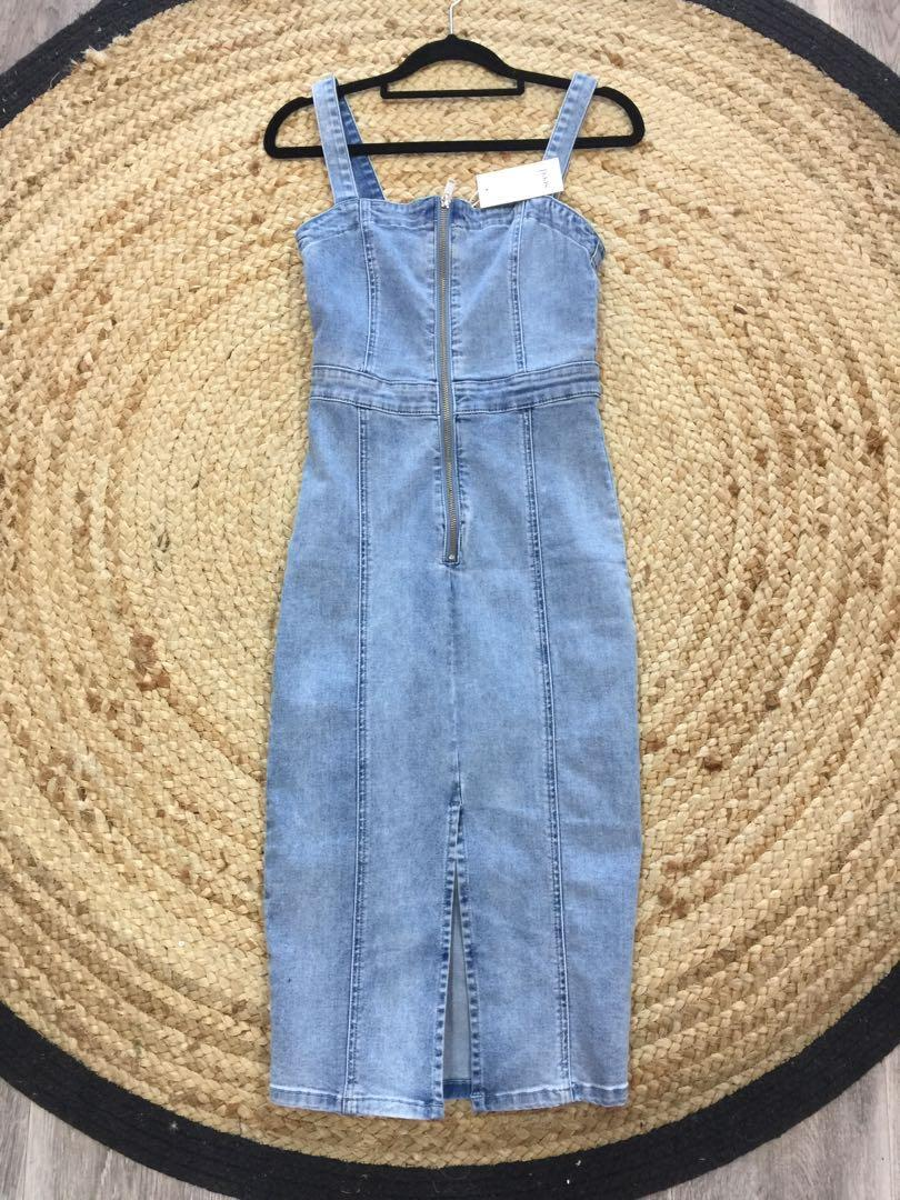 Seed heritage denim mini bnwt size 6