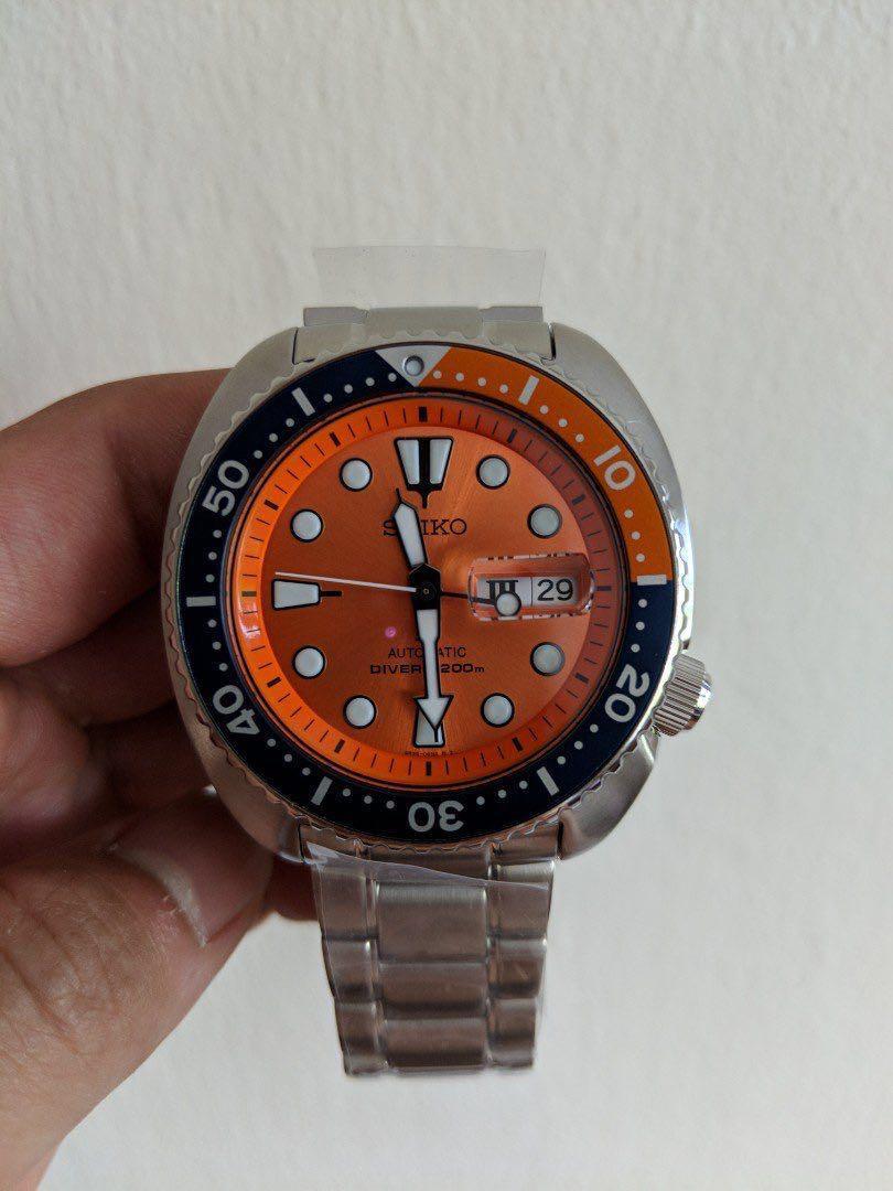 huge selection of 2ecde cd8b8 SEIKO PROSPEX Orange Turtle limited edition SRPC95K1, Men's ...