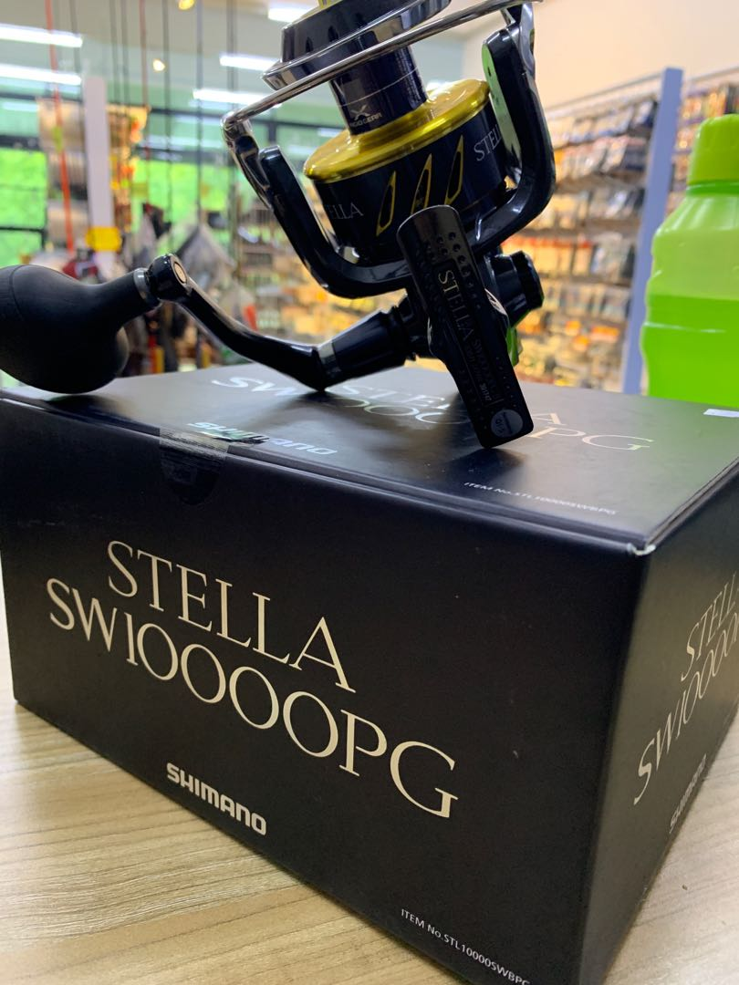 Shimano Stella Sw10000Pg / Sw8000Pg, Sports, Sports Apparel