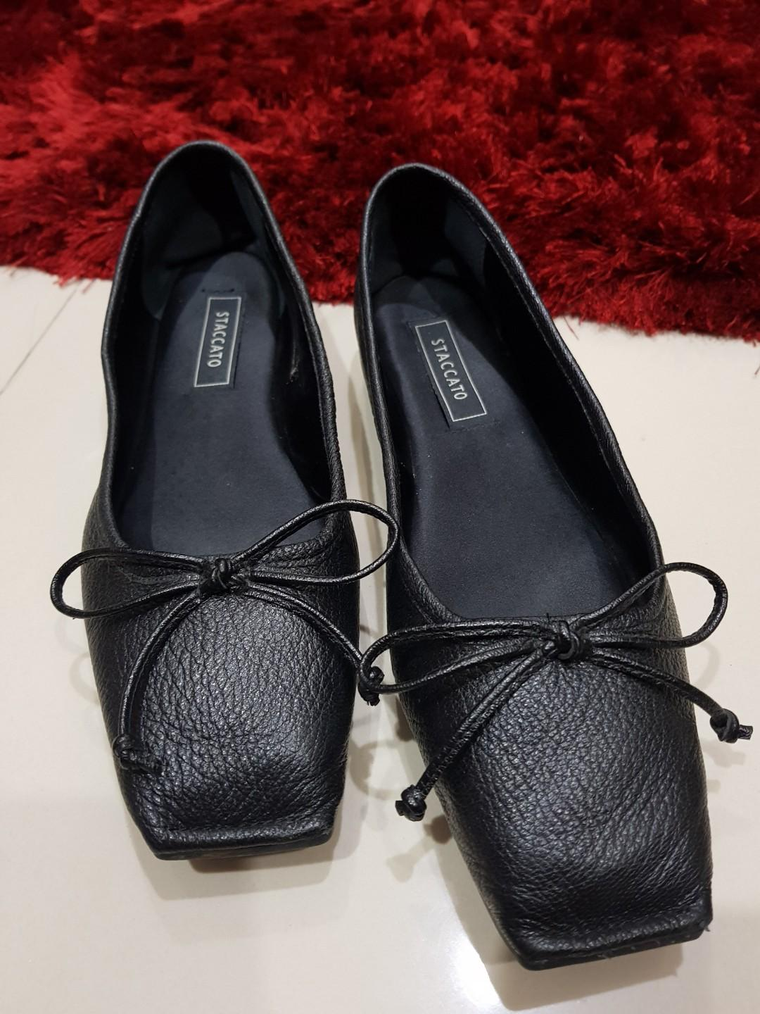 STACCATO/flat shoes/sandal/original