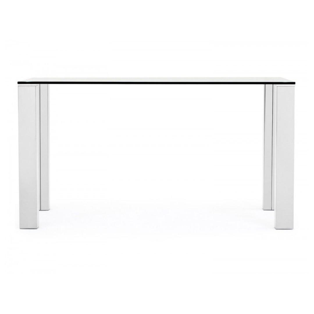 Enjoyable Structube Glass Dining Table Macao With Silver Chrome Legs Dailytribune Chair Design For Home Dailytribuneorg