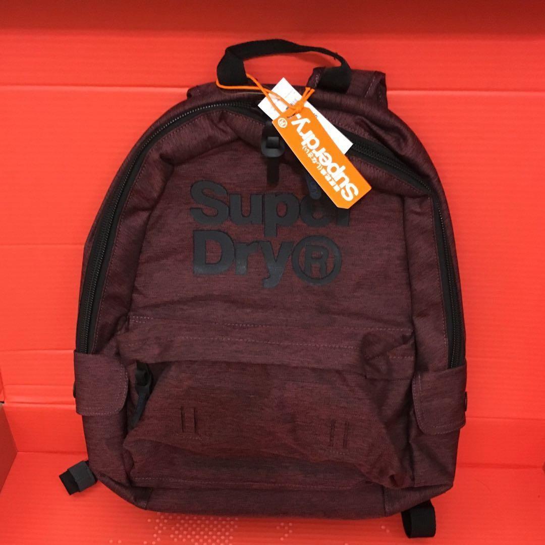 4d668e3bf3fe 😍Superdry😍Blast Montana Backpack 背囊 棗紅色 Burgundy