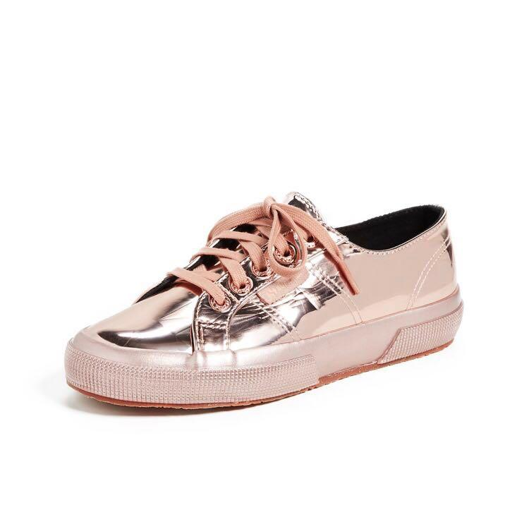 promo code 37567 c83ac Superga 2750 Laceless Metallic Sneaker Rose Gold, Women's ...
