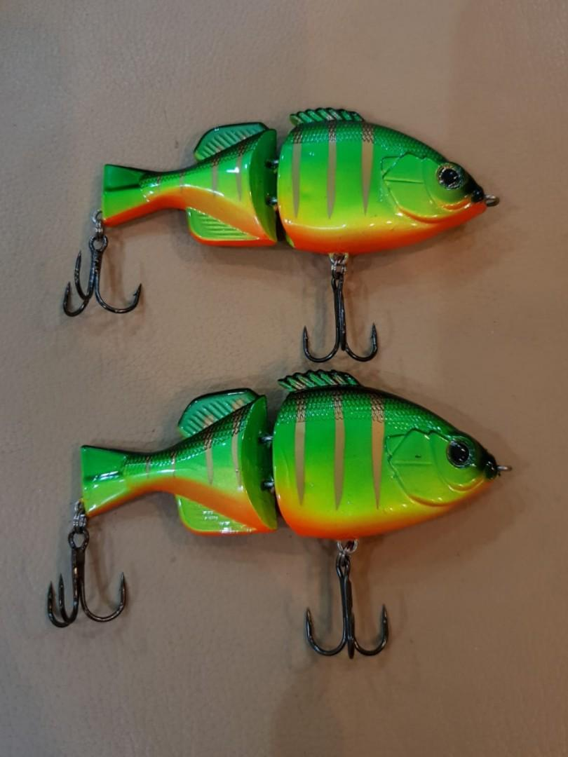 Swimbait fishing lure (Green)