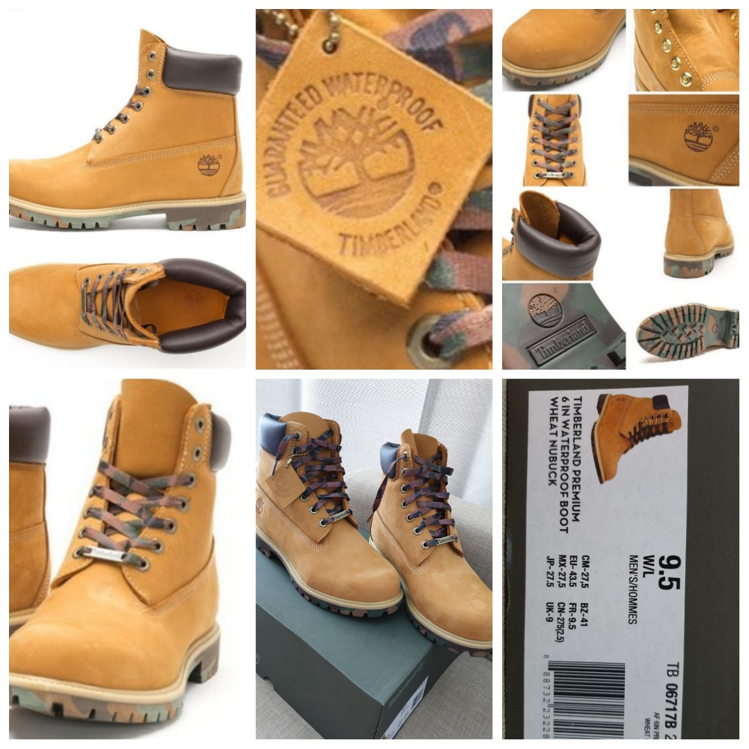 Timberland 6 inch yellow boots, Men's