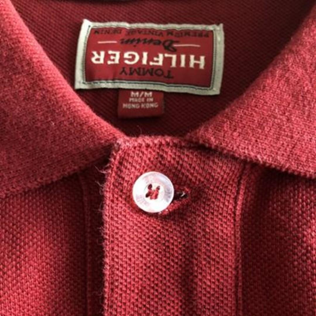 Tommy Hilfiger Vintage Upside Down Logo Polo Shirt