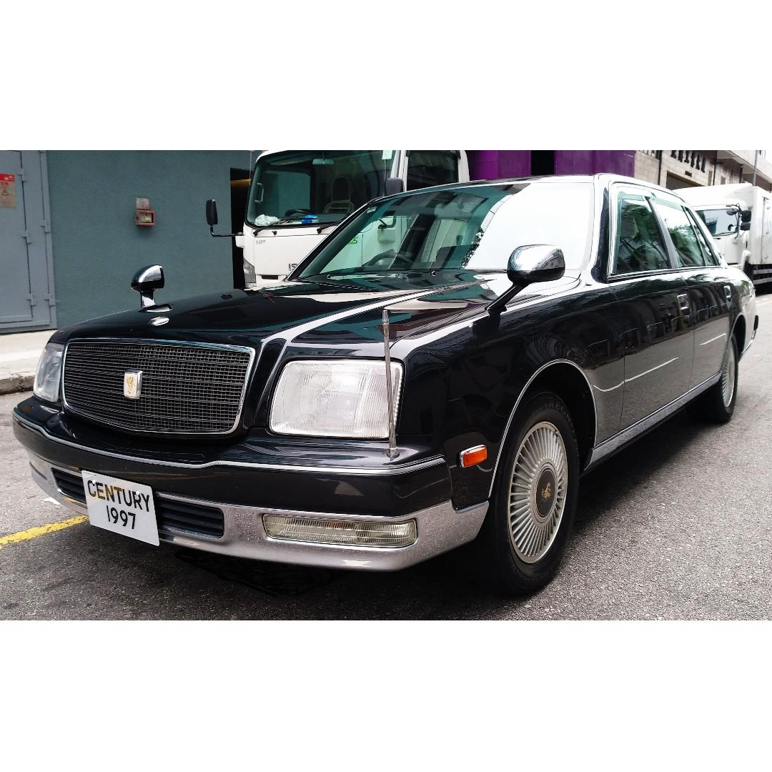 TOYOTA CENTURY 5.0 EMV ROYAL FAMILY X-EDITION 1997 GREEN