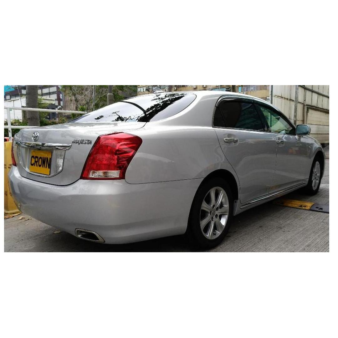 TOYOTA CROWN MAJESTA TYPE C 2012 LEATHER PACKAGE METALLIC SILVER