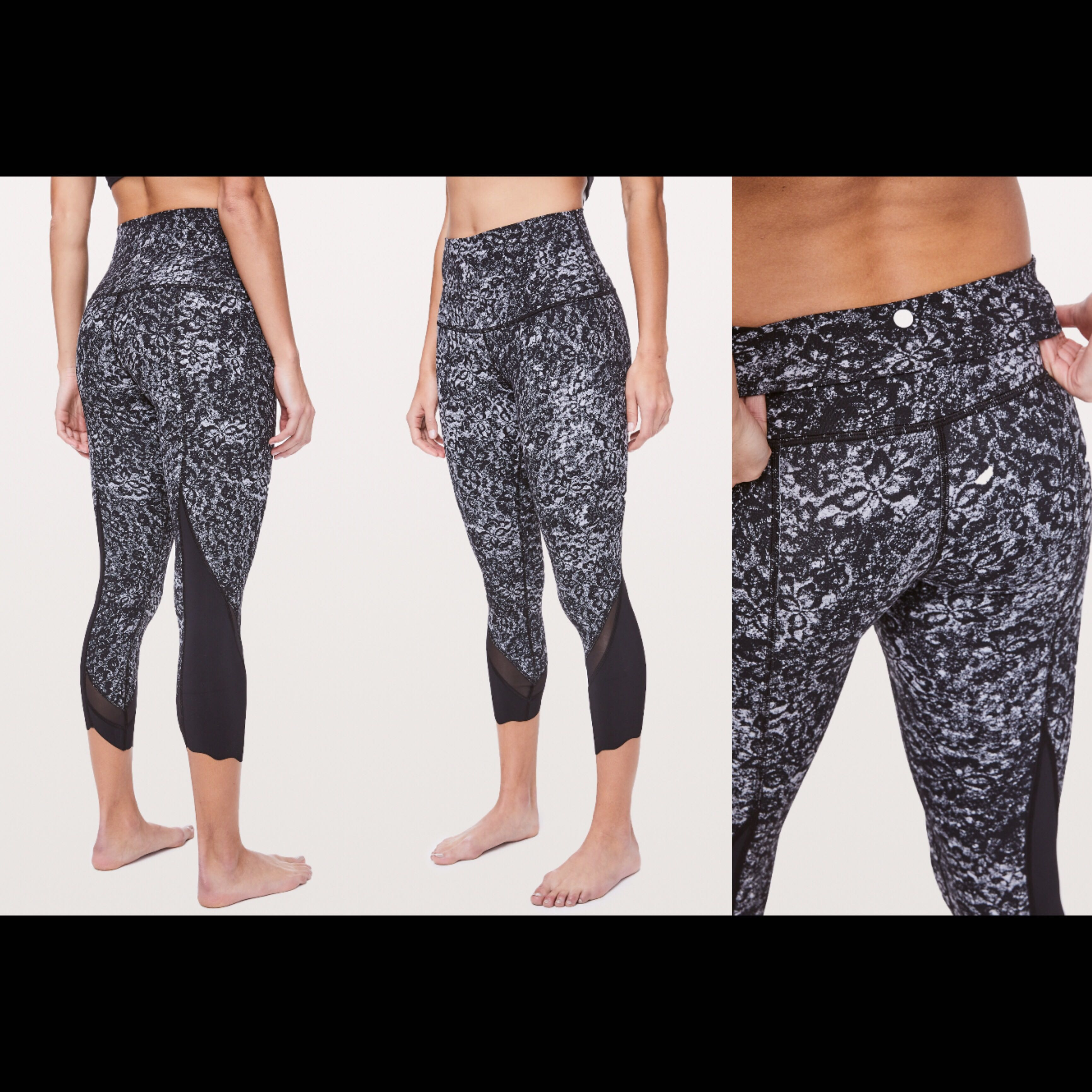 07892f8f23e8d1 Wunder Under Crop II Scallop Full-On Luxtreme 24