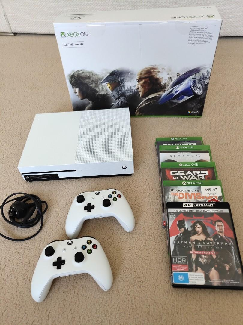 XBOX One 500G and Games