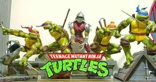 Sideshow Teenage Mutant Ninja Turtles comiquette exc