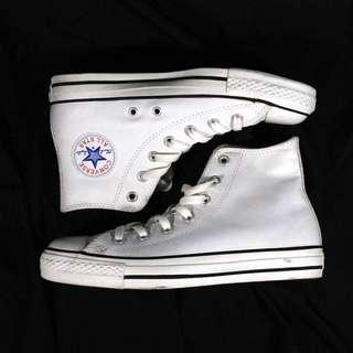Authentic Chuck Taylor Leather Converse White