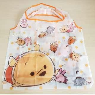 Disney Tsum Tsum Winnie the Pooh and Friends Foldable Eco Shopping Bag