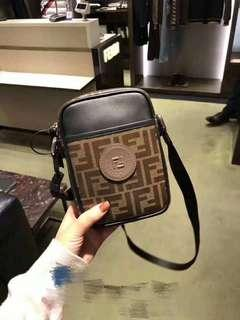Fendi Bag 新款 字母Logo印花 相機包 hkd4700 real and new