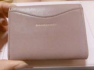 Rabeanco brown and purple wallet