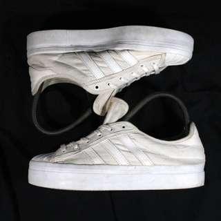 Authentic Adidas Superstar Platform White