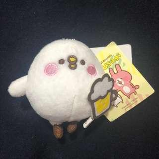 Piske & usagi soft toy keychain