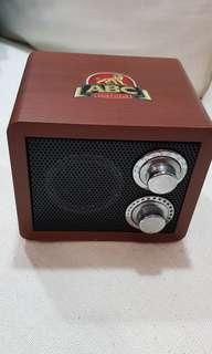 Abc Extra Stout old Radio (collectible)