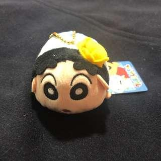 🚚 Crayon shinchan soft toy keychain