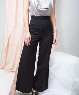 Slit pants culotte
