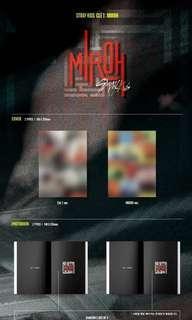 🚚 PO Stray Kids Clé 1 : MIROH Nomal Edition sealed/unsealed/internal trading