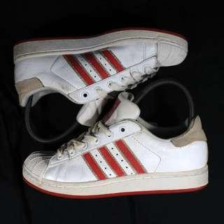 Authentic Adidas Superstar Red-White